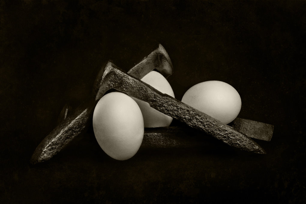 Spike and Eggs by Clayton Brandenburg