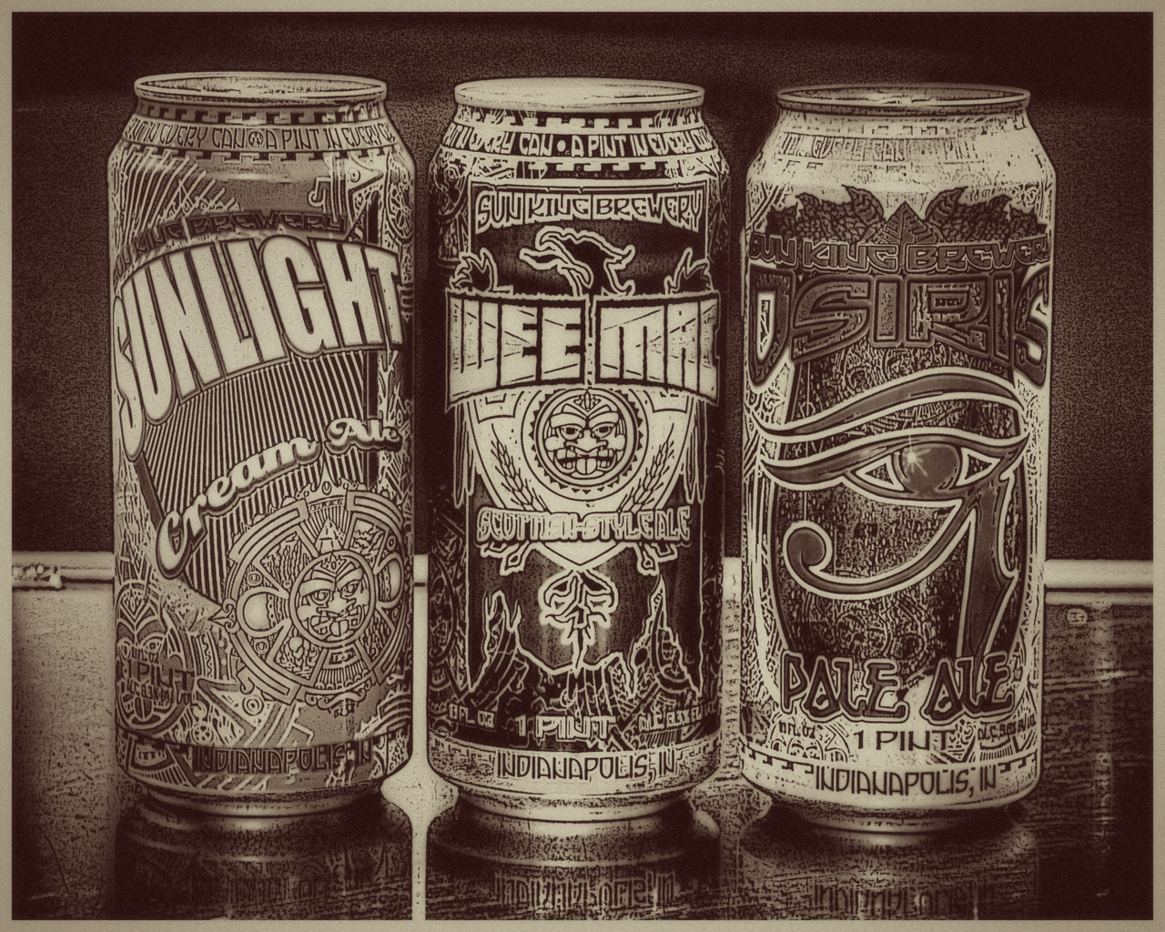 Sun King Brewing by Kel Kyle (© 2013 All Rights Reserved).