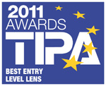 TAMRON SP 70-300MM Di VC USD (MODEL A005) WINS BEST ENTRY LEVEL LENS AT TIPA AWARDS 2011